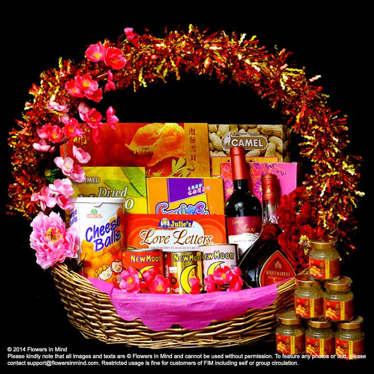 CNY Hamper (CNY05) - Flowers In Mind