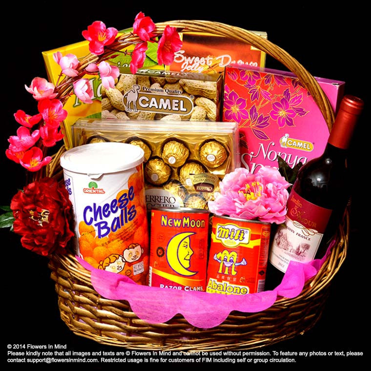 CNY Hamper (CNY07) - Flowers In Mind