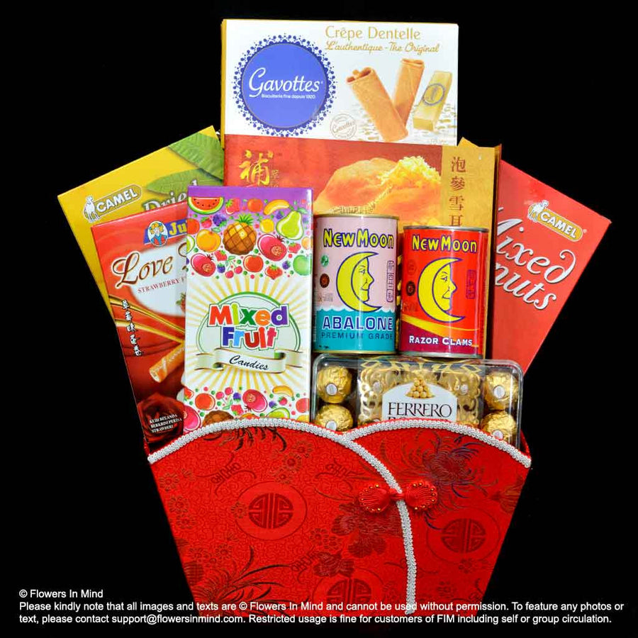 CNY Hamper (CNY16) - Flowers-In-Mind