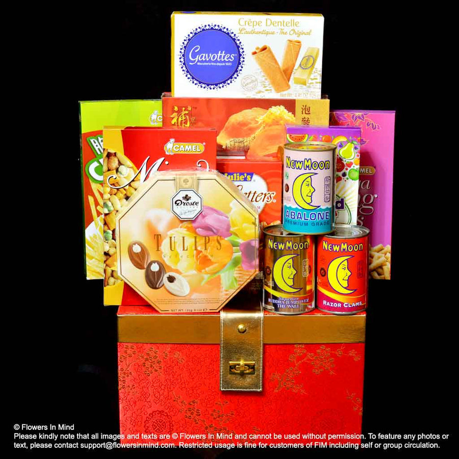 CNY Hamper (CNY18) - Flowers-In-Mind