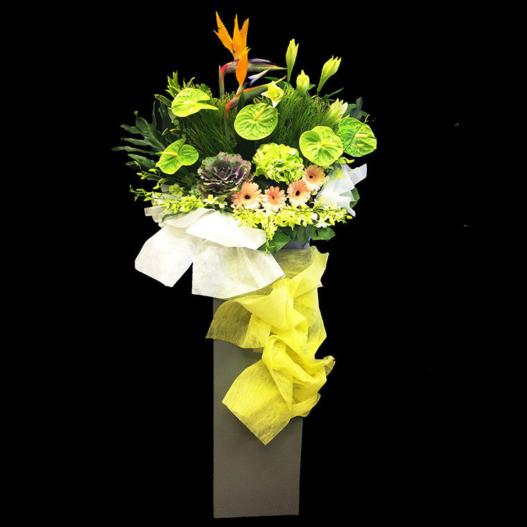 Wreath Box Design (PREMIUM) (FW01) - Flowers In Mind