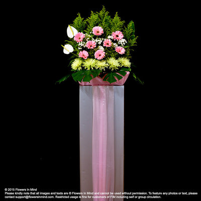 Wreath Box Design (STANDARD) (FW18) - Flowers-In-Mind