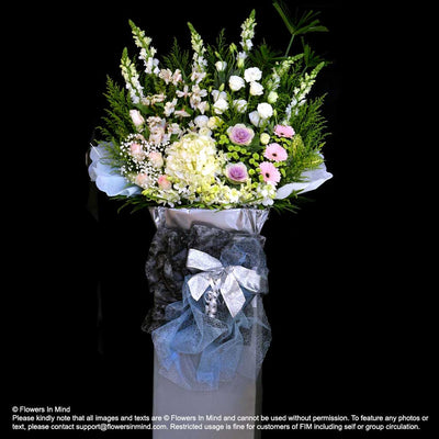 Wreath Box Design (PREMIUM) (FW52) - Flowers-In-Mind