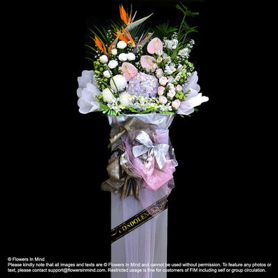 Wreath Box Design (DELUXE) (FW53) - Flowers-In-Mind