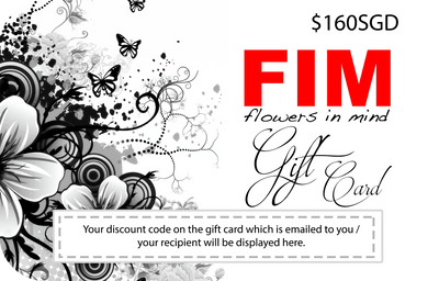 FIM GIFT CARD - Flowers-In-Mind