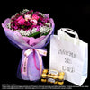 Bouquet of Roses with Ferrero Rocher T16 (HB144) - Flowers-In-Mind