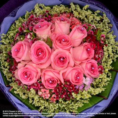 Bouquet of Roses (HB154) - Flowers-In-Mind