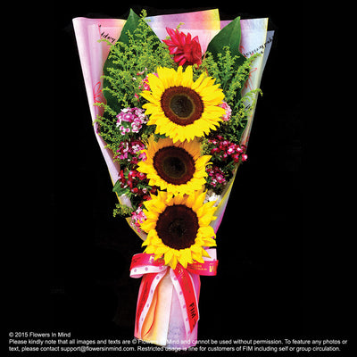 Bouquet of Sunflower (HB40) - Flowers-In-Mind