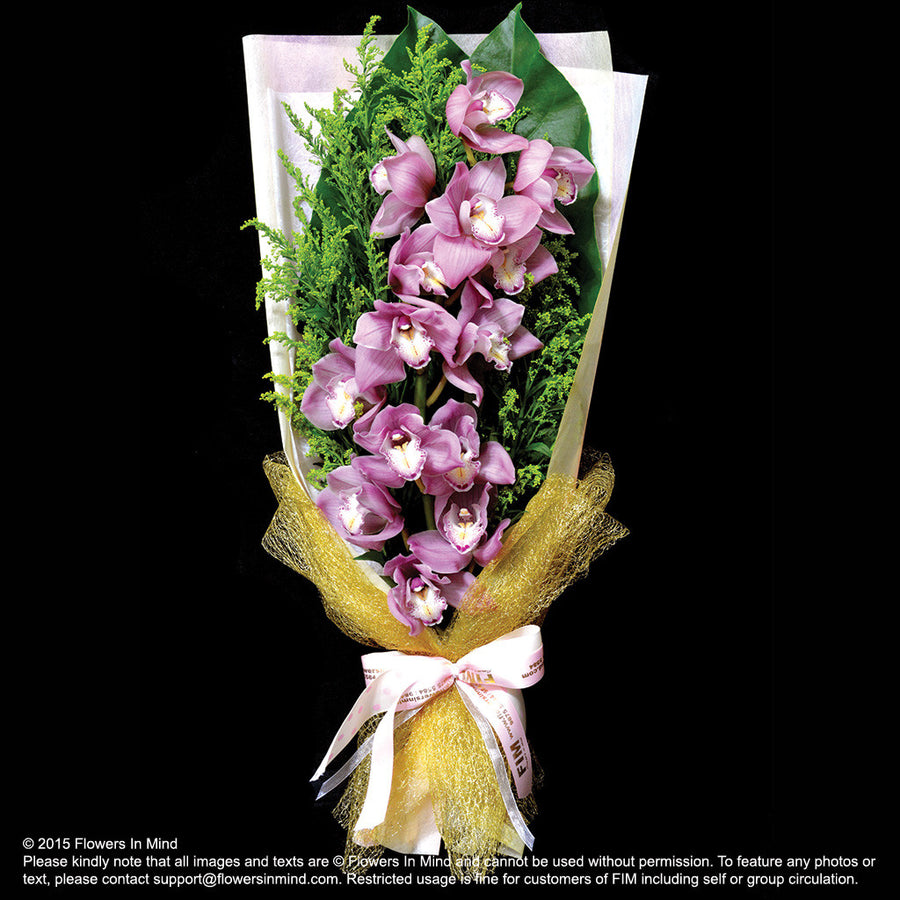 Bouquet of Cymbidium - Flowers-In-Mind
