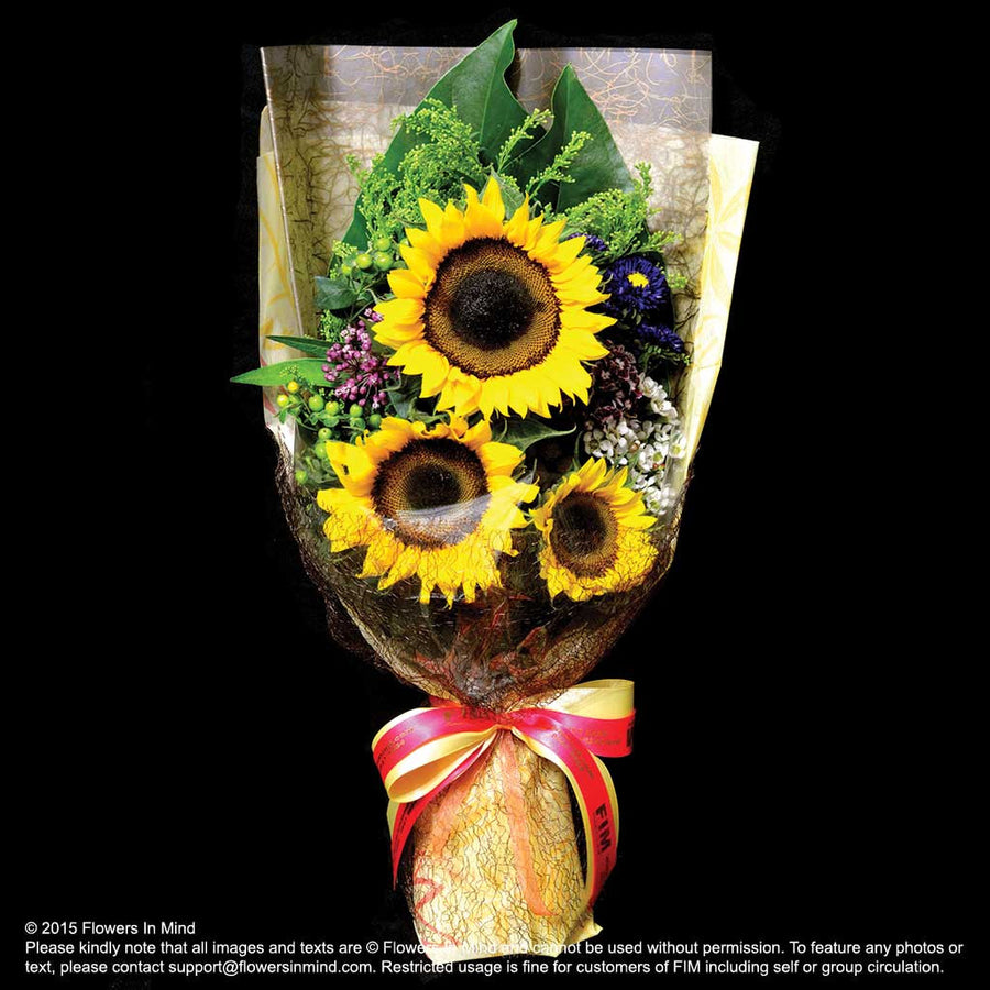 Bouquet of Sunflower (HB40) - Flowers In Mind