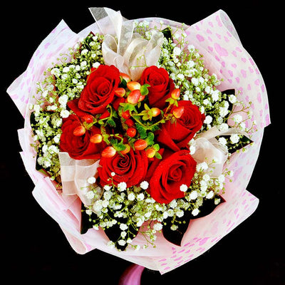 Bouquet of Roses (HB25) - Flowers-In-Mind