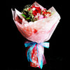 Bouquet of Roses with Alstroemeria (HB29) - Flowers-In-Mind