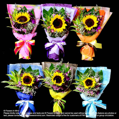 Wedding / Event Floral Door Gifts (HB) - Flowers-In-Mind