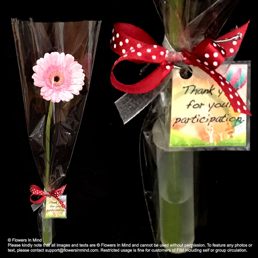 Wedding / Event Floral Door Gifts (HB311) - Flowers-In-Mind