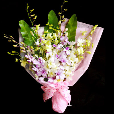 Bouquet of Orchids (HB30) - Flowers-In-Mind