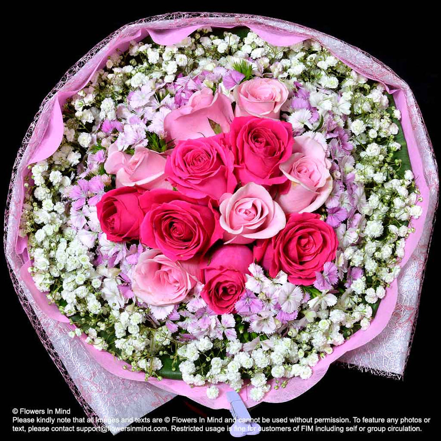 Bouquet of Roses (HB351) - Flowers-In-Mind