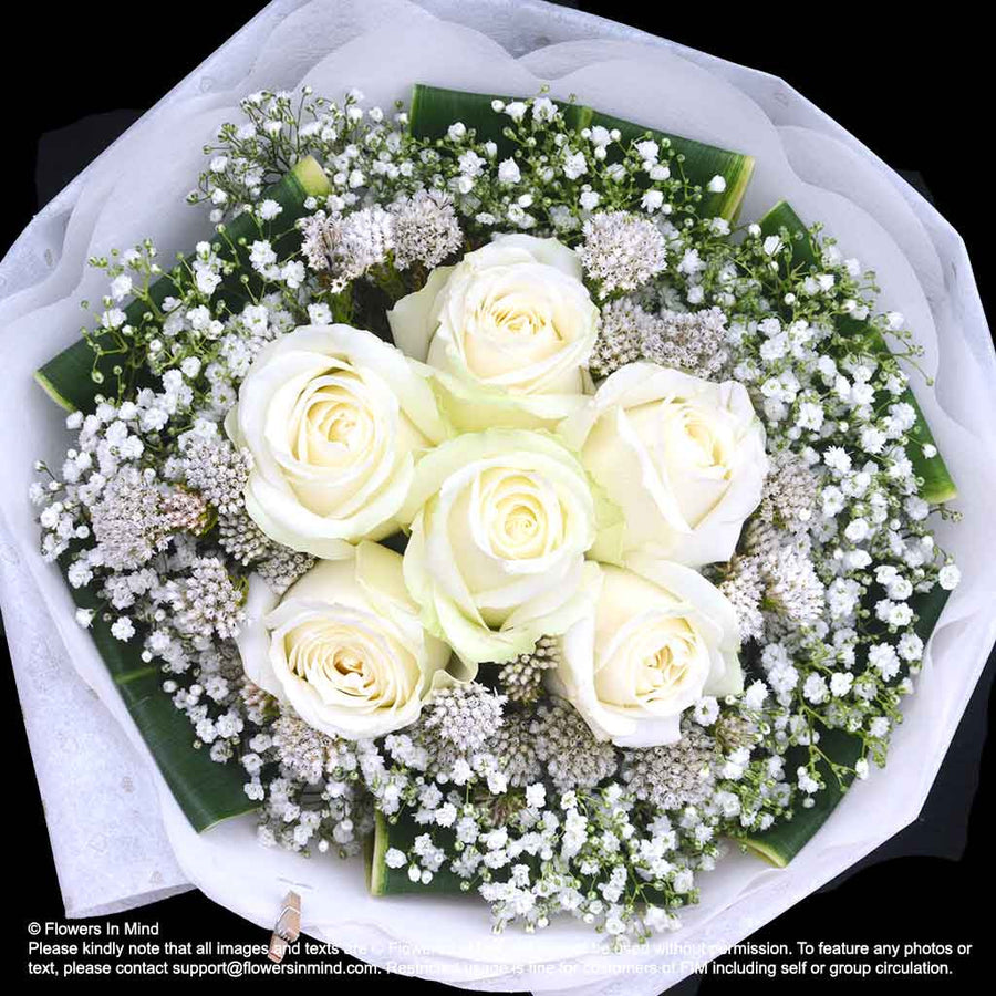 Bouquet of Roses (HB171) - Flowers-In-Mind