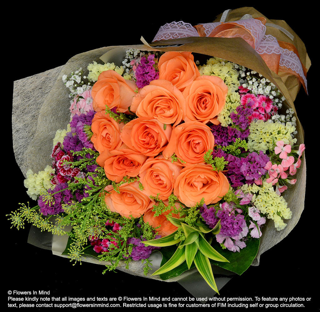 Online florist flower delivery shop in singapore flowers delivery bouquet of roses hb248 flowers in mind izmirmasajfo