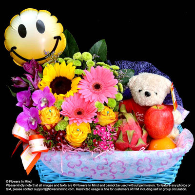 Wellness Hamper (WH30) - Flowers-In-Mind