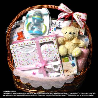 New Born Hamper (HP131) - Flowers-In-Mind