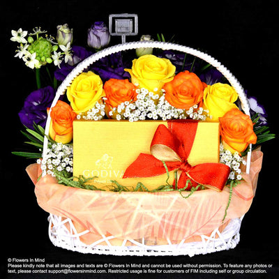 GODIVA Chocolate Hamper (HP13) - Flowers-In-Mind
