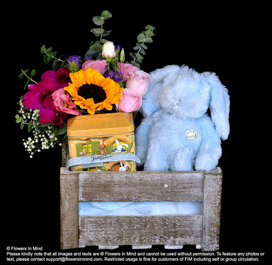 Baby Hamper (HP148) - Flowers-In-Mind