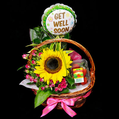 Wellness Hamper (WH03) - Flowers-In-Mind