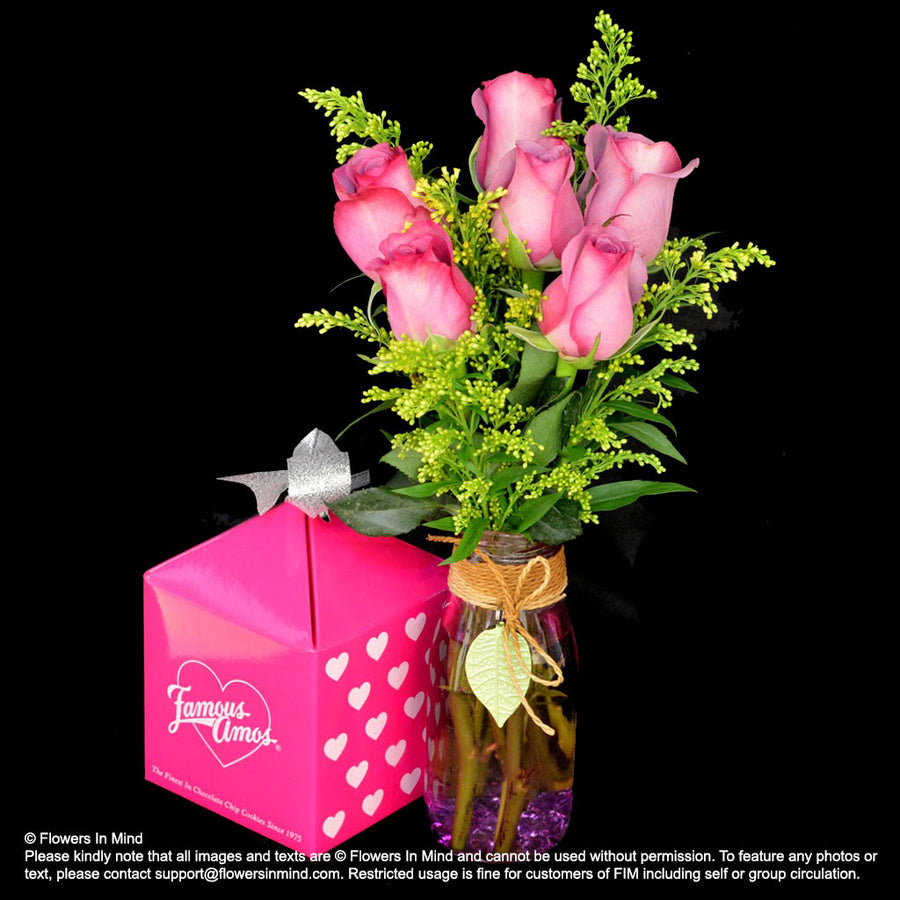 FAMOUS AMOS Hamper (HP286) - Flowers-In-Mind