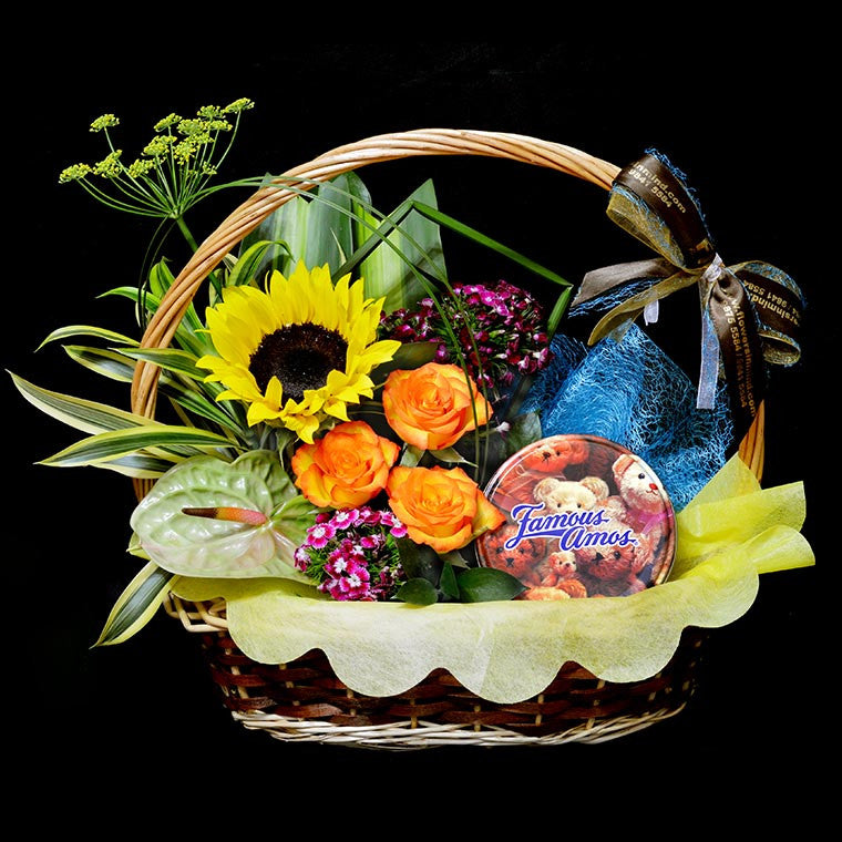 FAMOUS AMOS Hamper (HP32) - Flowers-In-Mind