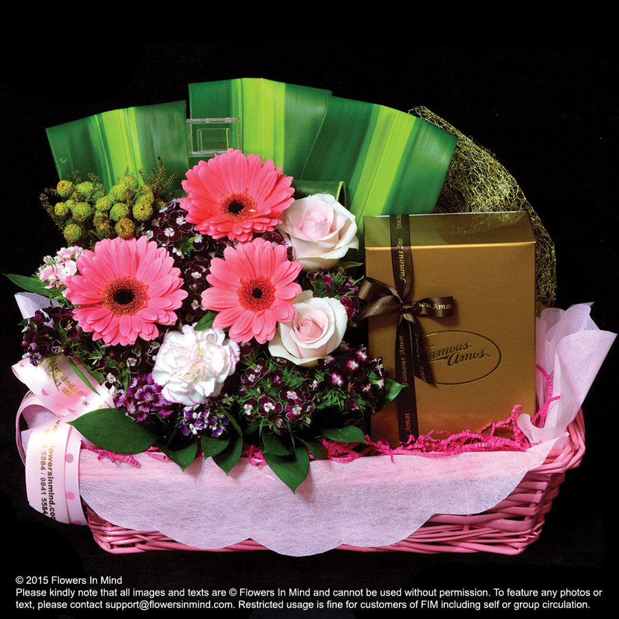FAMOUS AMOS Hamper (HP34) - Flowers-In-Mind