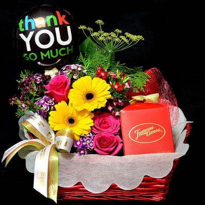 FAMOUS AMOS Hamper (HP35) - Flowers-In-Mind