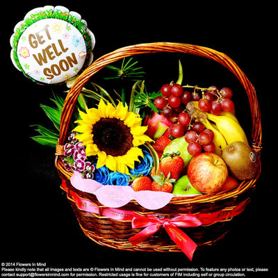 Wellness Hamper (WH24) - Flowers-In-Mind