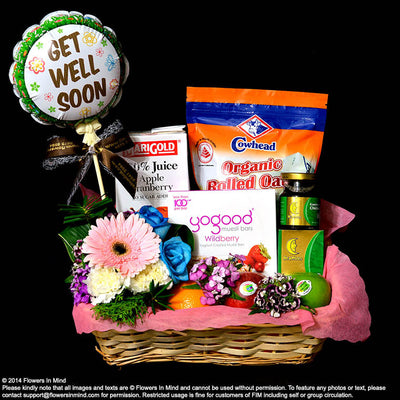 Wellness Hamper (WH13) - Flowers-In-Mind