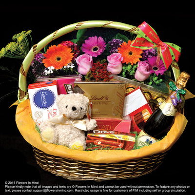 ALL TIME FAVOURITE Chocolate Hamper (HP84) - Flowers In Mind