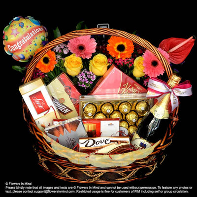 All Time Favourite Chocolate Hamper (HP88) - Flowers-In-Mind