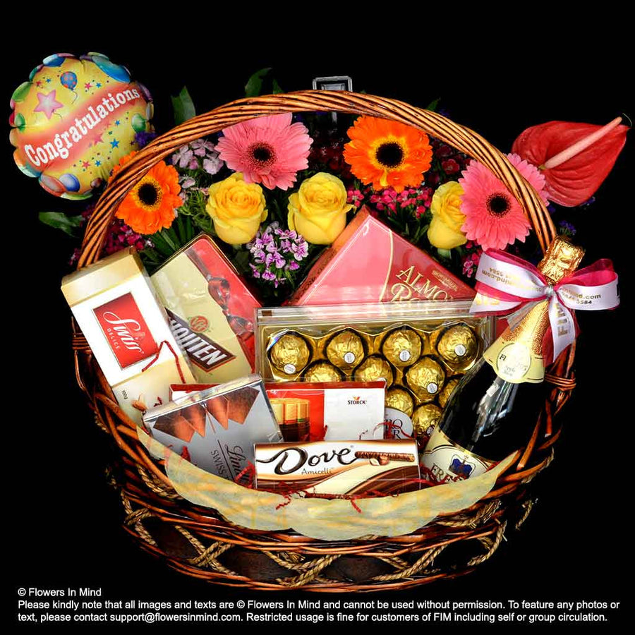 All Time Favourite Chocolate Hamper (HP88) - Flowers In Mind