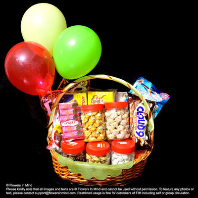 Hari Raya Cookies and Gifts Hampers (HR12) - Flowers-In-Mind