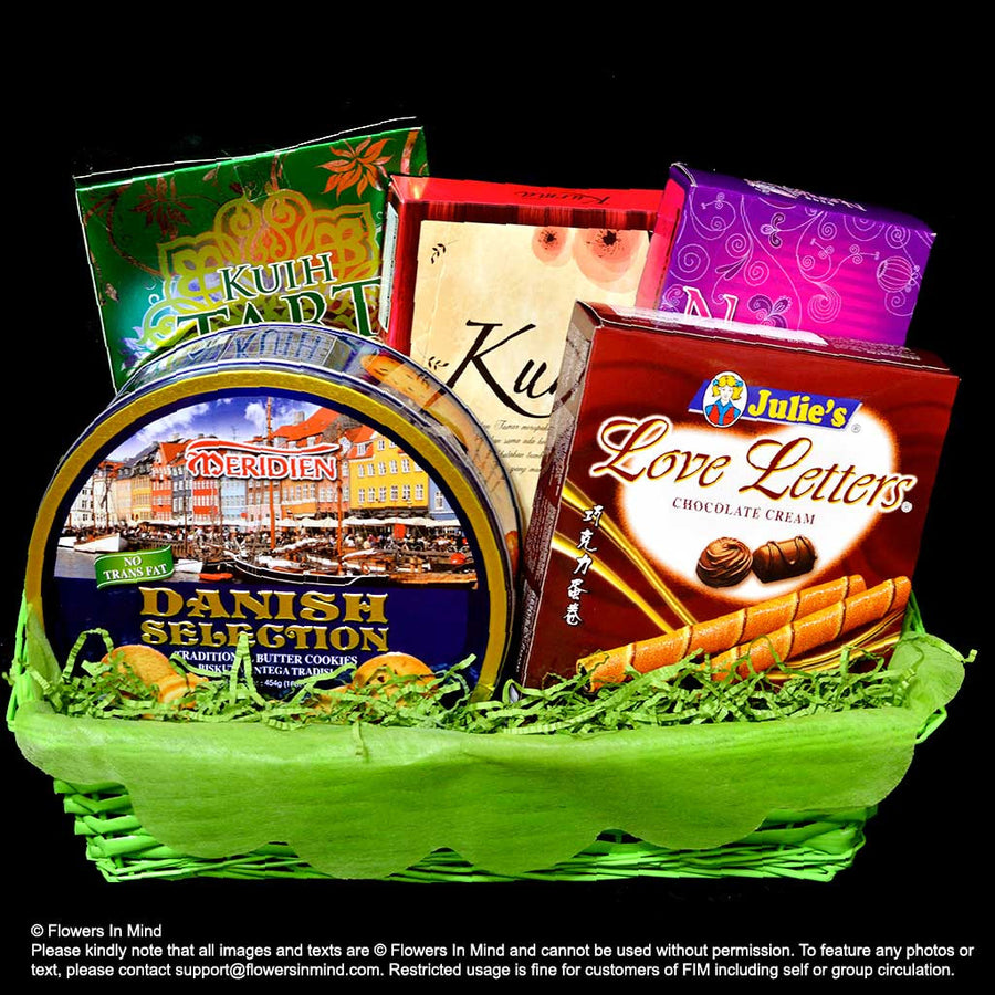 Hari Raya Cookies Hampers (HR15) - Flowers-In-Mind
