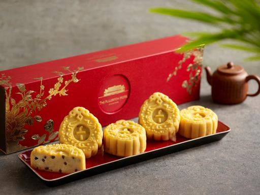 THE FULLERTON ORANGE AND CHOCOLATE PASTE SNOW SKIN MOONCAKES