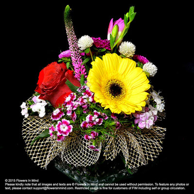 Contract Flowers (3 months or 13 weeks subscription) - Flowers-In-Mind