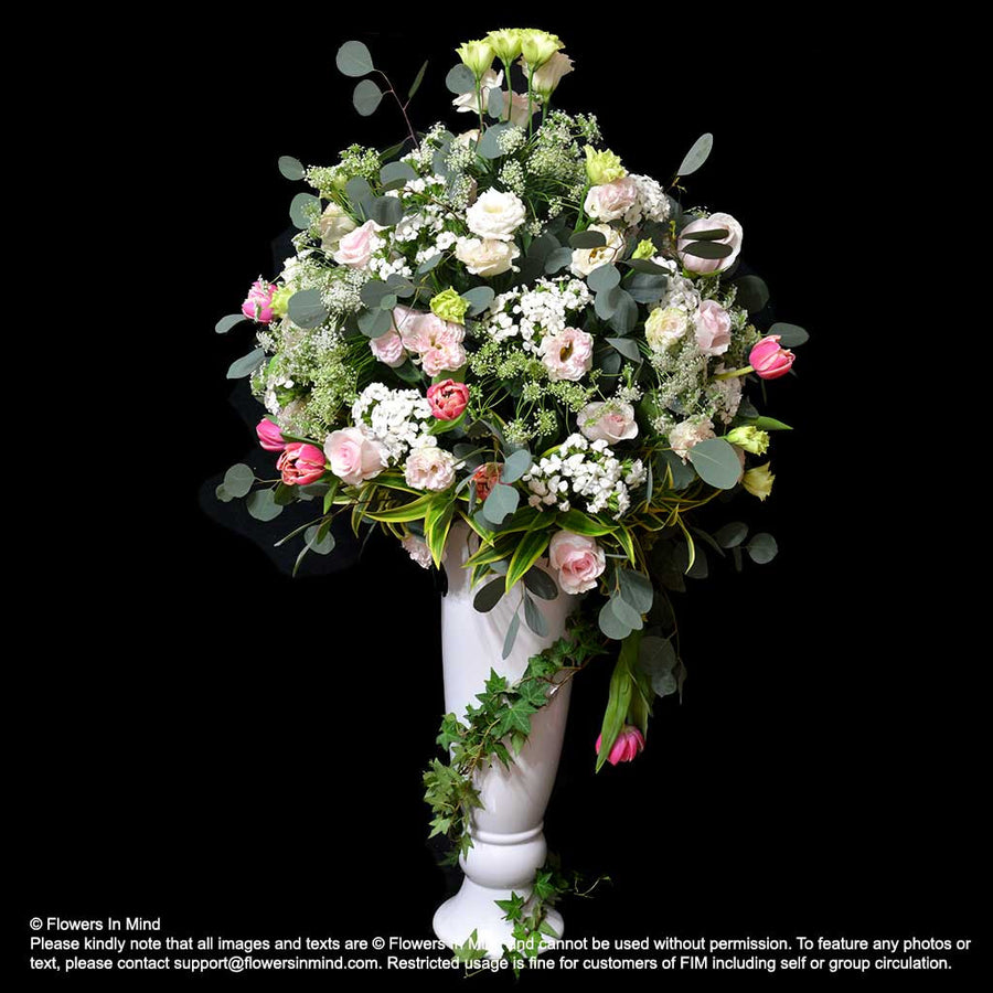 TALL TABLE ARRANGEMENTS (TA248) - Flowers-In-Mind