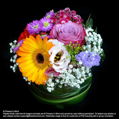 Table Arrangement Workshop (4 LESSONS) - Flowers-In-Mind