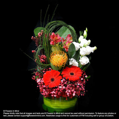 Contract Flowers (6 months or 26 weeks subscription) - Flowers-In-Mind