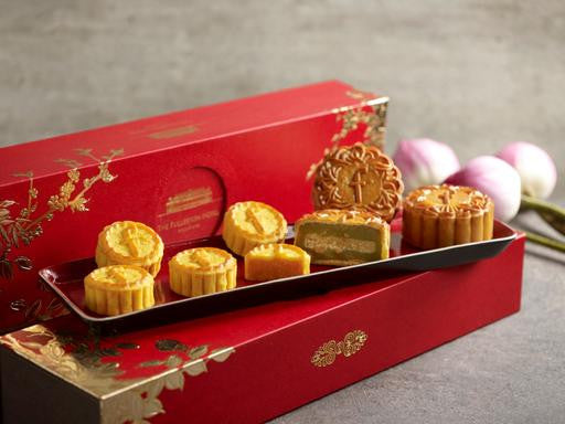 THE FULLERTON BAKED TREASURES MOONCAKES - Flowers-In-Mind