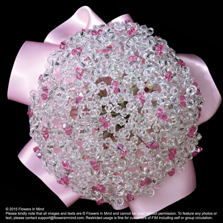 Bridal bouquet with Swarovski Crystals (WD113)