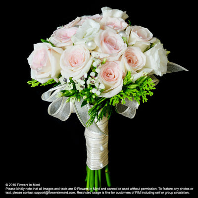 Bridal bouquet in natural stem (WD20) - Flowers In Mind