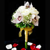 Bridal bouquet in natural stem (WD23) - Flowers-In-Mind