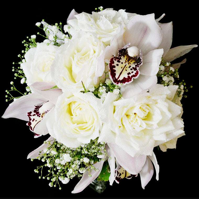 Bridal bouquet in natural stem (WD23)