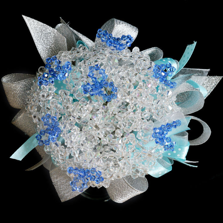 Bridal bouquet with Swarovski Crystals (WD30)