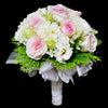 Bridal bouquet in bridal holder (WD39) - FLOWERS IN MIND